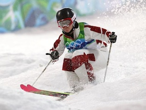 Jennifer Heil in the Vancouver 2010 Olympics