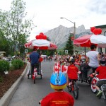 Canada Day Parade 2010. Canmore.