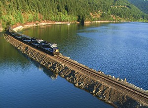 Rocky Mountaineer's Coastal Passage Route