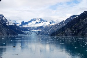 Photo taken from onboard Holland America's Zuiderdamas we cruised Glacier Bay National Park