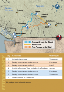 Taste of the Rockies Circle Vacation with Rocky Mountaineer