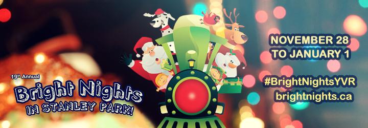 Vancouver Christmas Train
